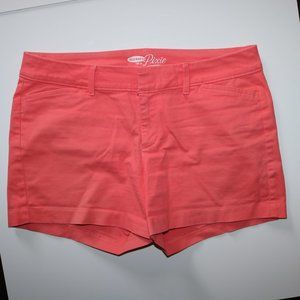 Old Navy The Pixie Pink Shorts - W32 Length 12.5